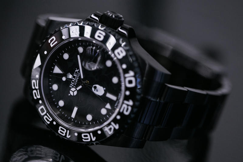 BAPE x Rolex by Bamford Watch Department