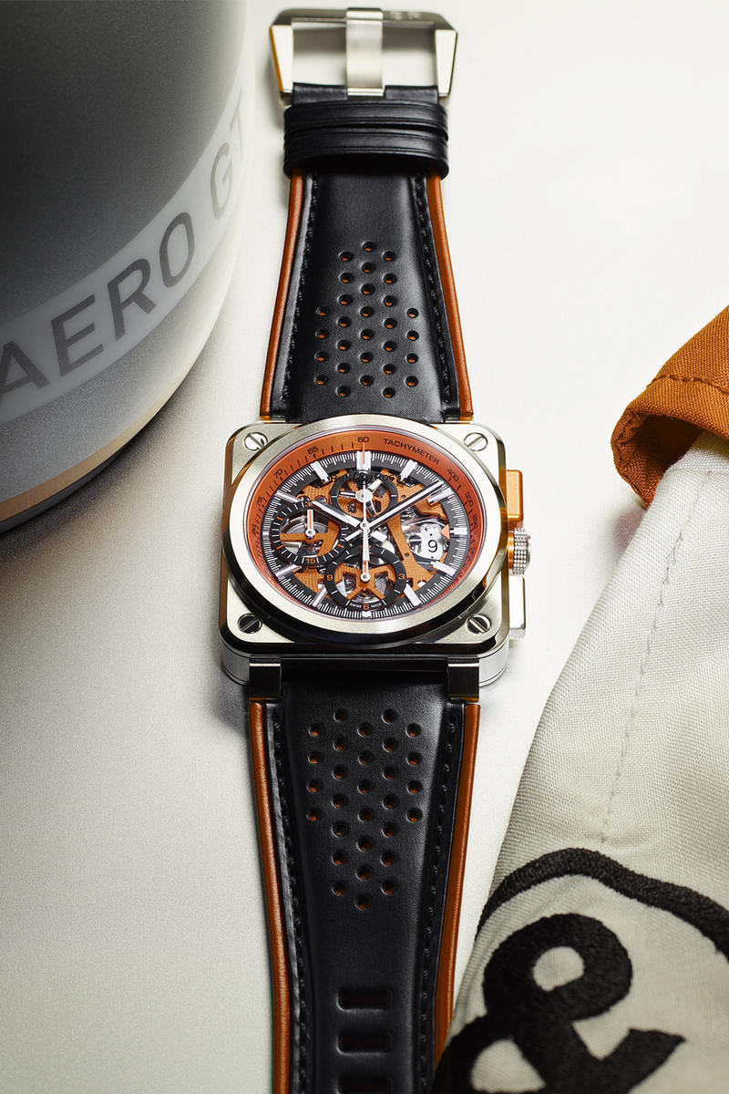 Bell Ross BR03 94 AeroGT Orange Watch