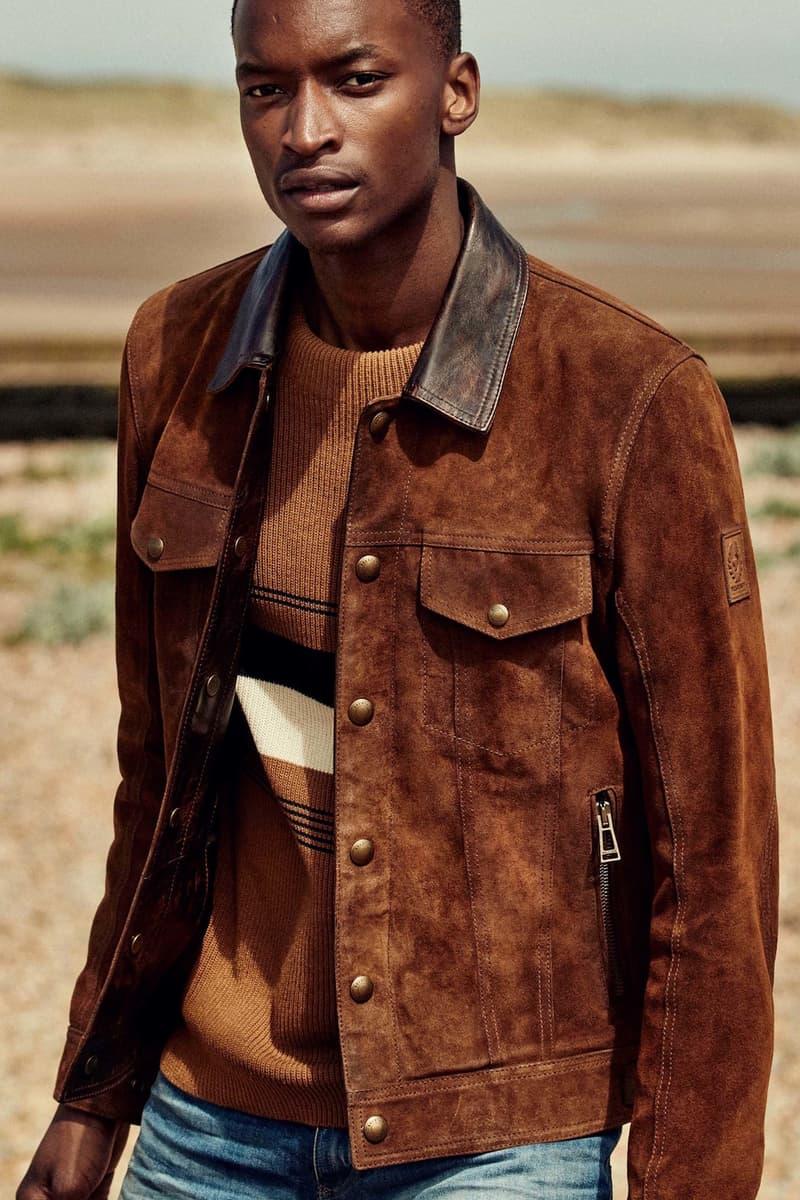 Belstaff 2018 Spring Summer Collection London Fashion Week Men's runway show