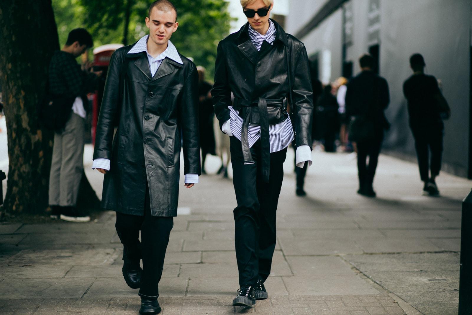 London Fashion Week Men's 2017 Street Style