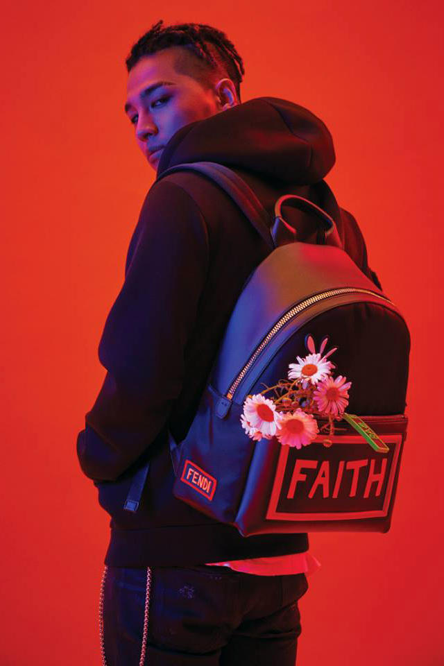 Taeyang Big Bang Fendi Capsule Collection Collaboration