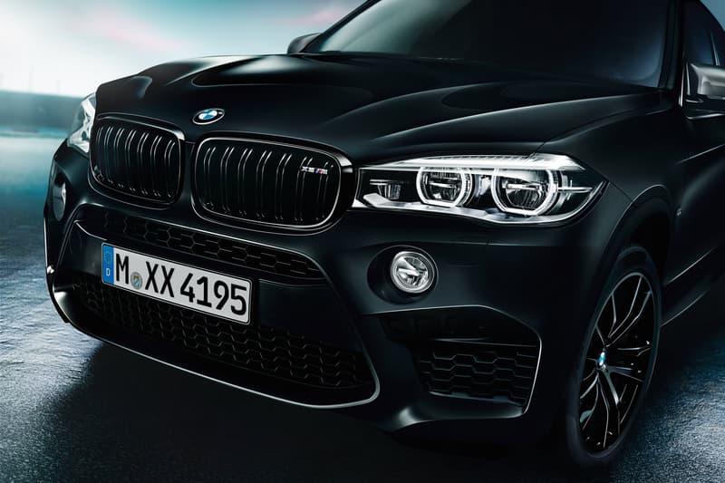 BMW X5 X6 M Black Fire