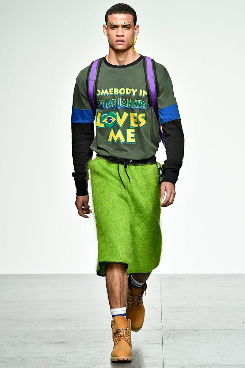 Bobby Abley 2018 Spring Summer Collection London Fashion Week Mens