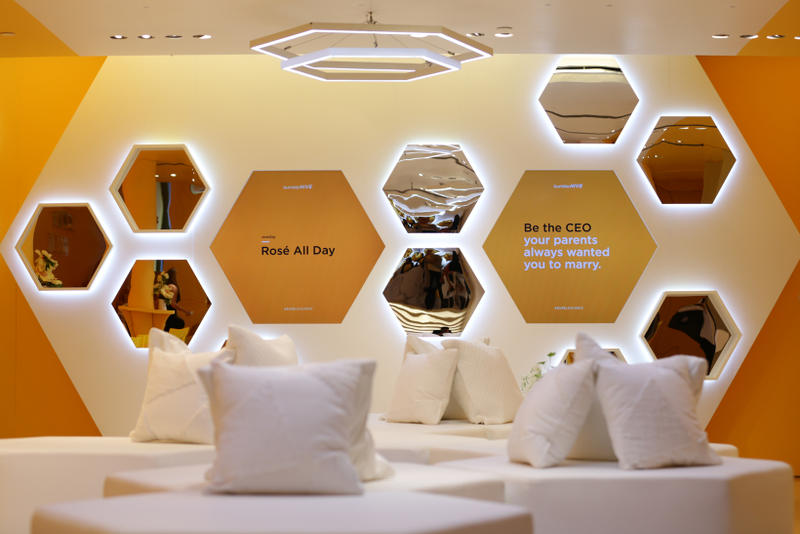 Bumble Hive Dating Pop-Up New York City Networking