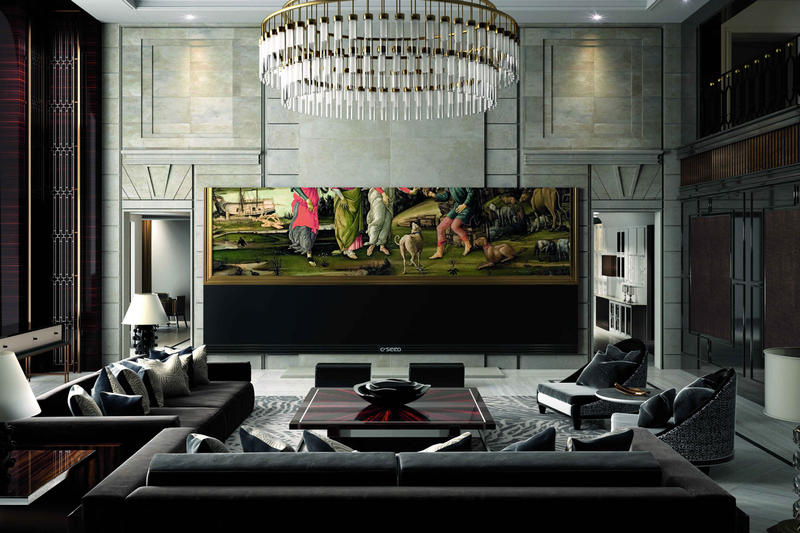 C SEED 262 C SEED 201 Widescreen Television Vienna Austria LED UHD Surround sound