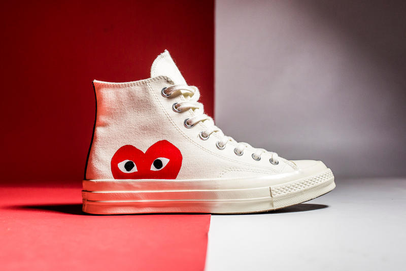 The COMME des GARÇONS PLAY x Converse Chuck Taylor All Star '70 Gets Re-Released