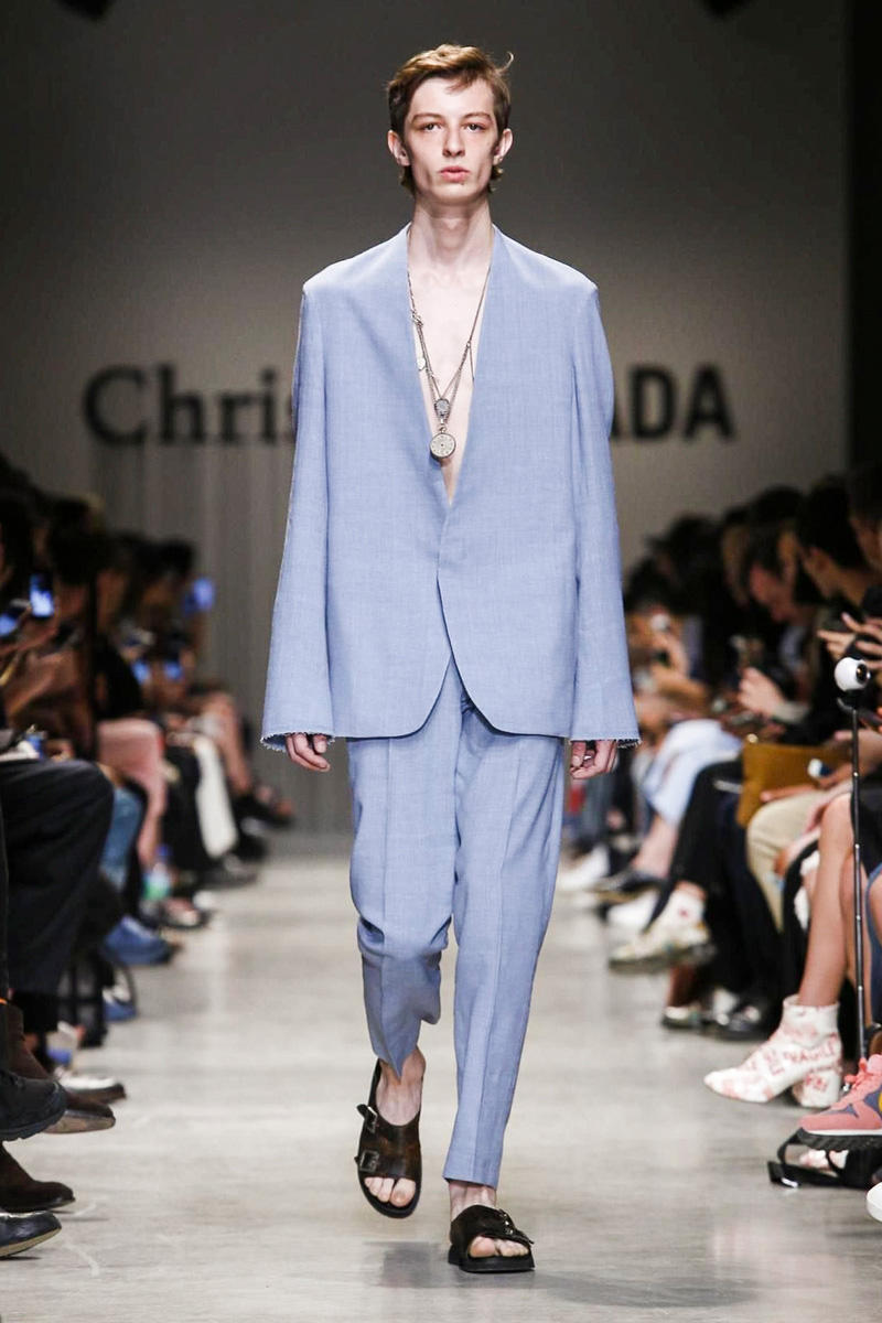 Christian Dada 2018 Spring/Summer Collection Paris Fashion Week Men's Runway Show