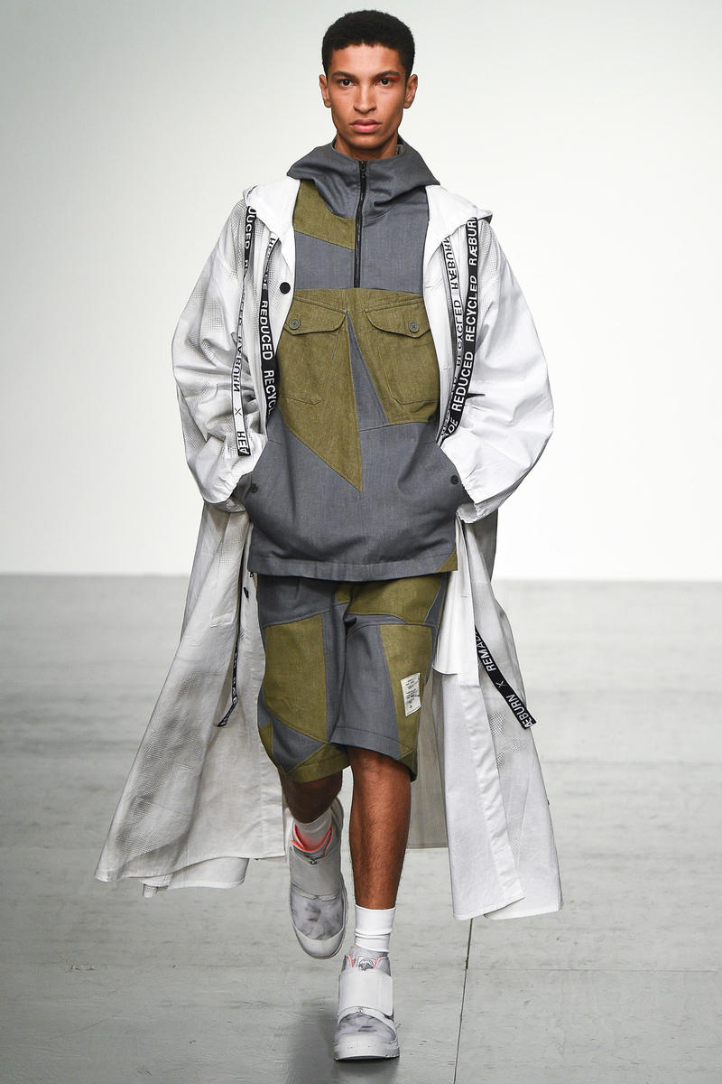 Christopher Raeburn 2018 Spring Summer Collection London Fashion Week Men's
