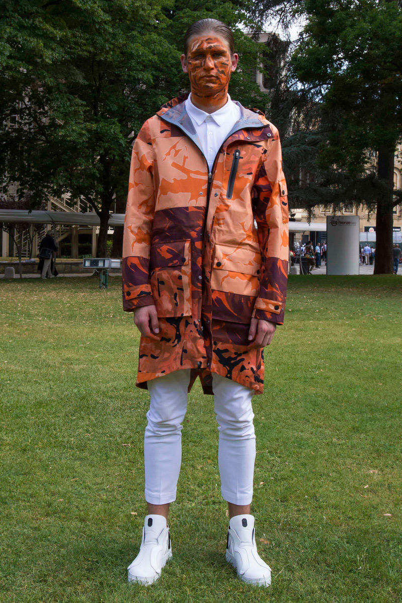 Christopher Raeburn Save The Duck 2018 spring summer Florence Pitti Uomo