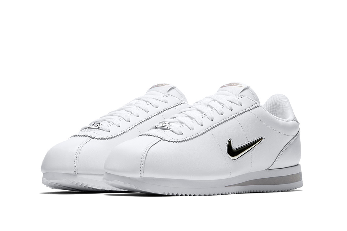 100% top quality best loved new style Nike Cortez Jewel Black & White Colorways | HYPEBEAST