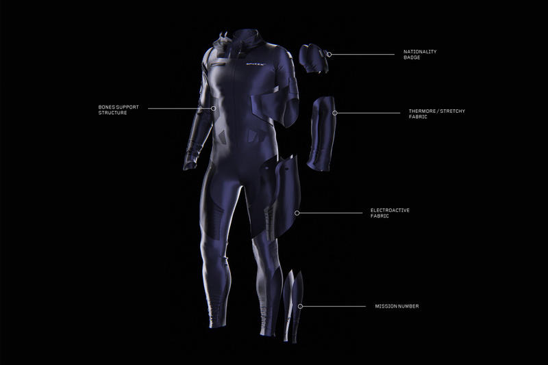 Clément Balavoine SpaceX Space Suit Design