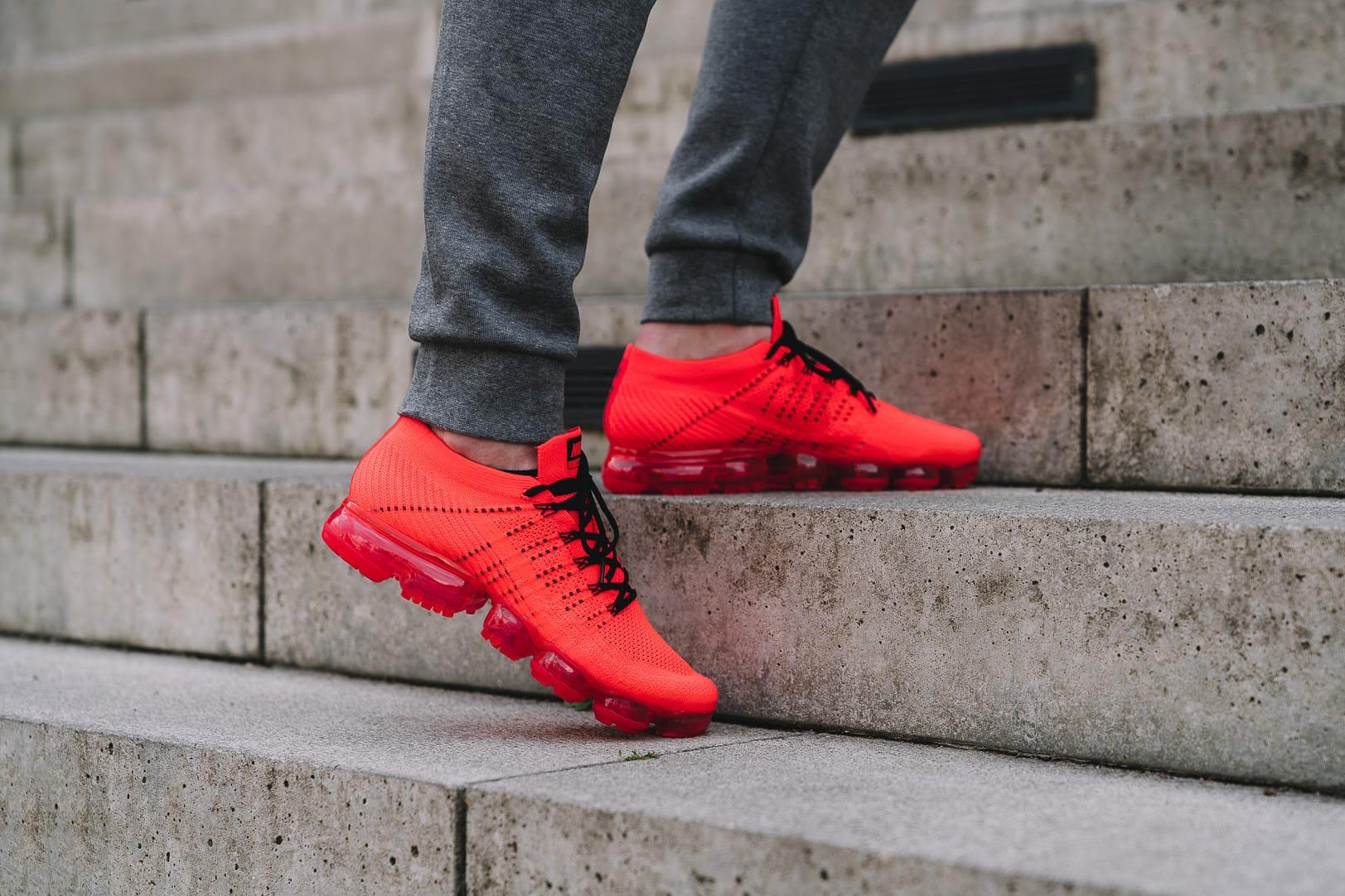CLOT x Nike Air VaporMax Flyknit On Feet