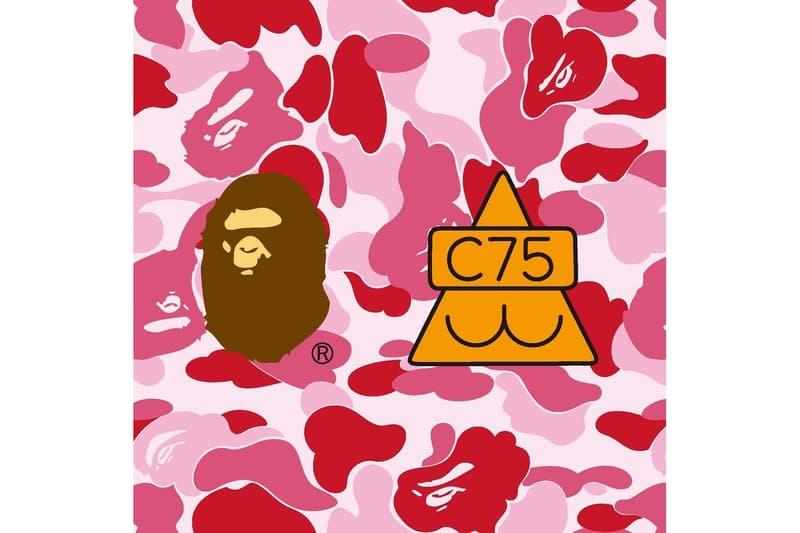 BAPE Club 75 A Bathing Ape Collaboration Fashion Apparel Streetwear