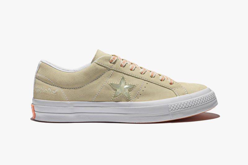 Foot Patrol x Converse One Star collaboration stone side profile