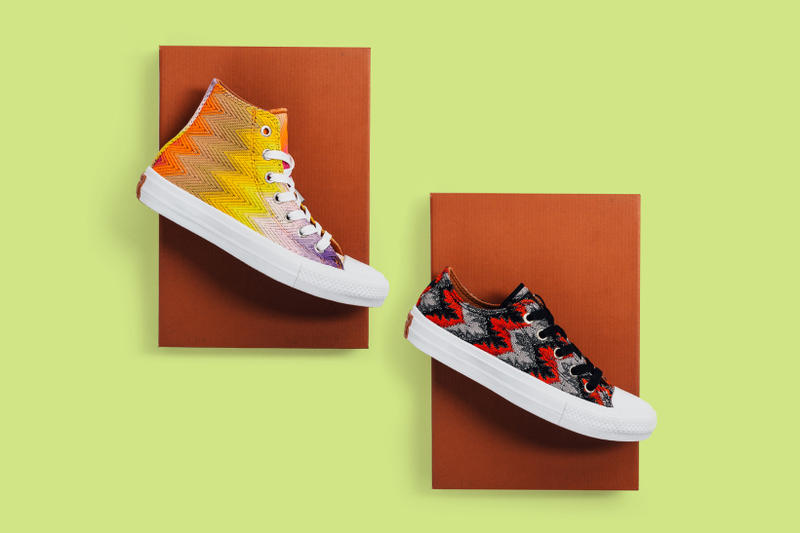 dc233e4edf Converse and Missoni Team up Again to Reinterpret the Chuck Taylor All Star  II