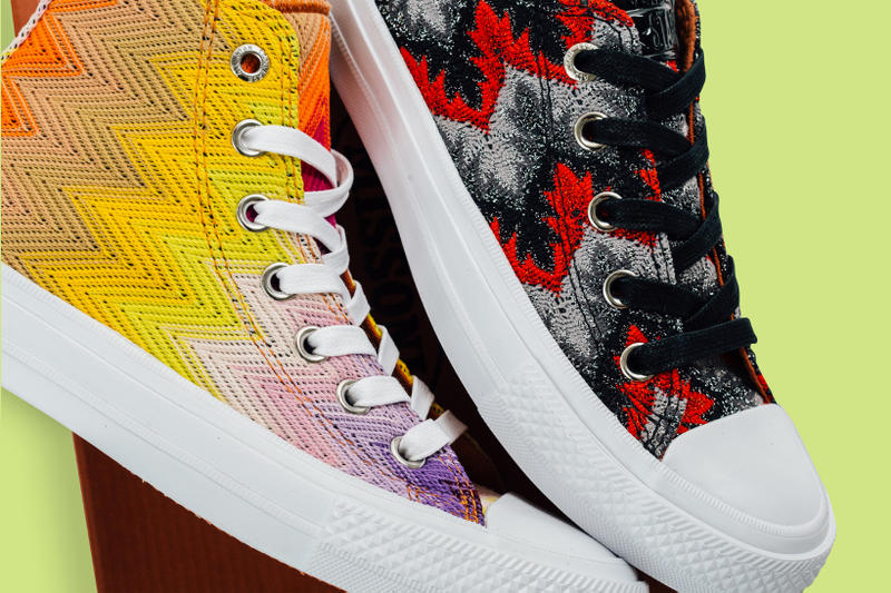 c30060e9a9 Converse Missoni Chuck Taylor All Star 2017 Summer Lookbook