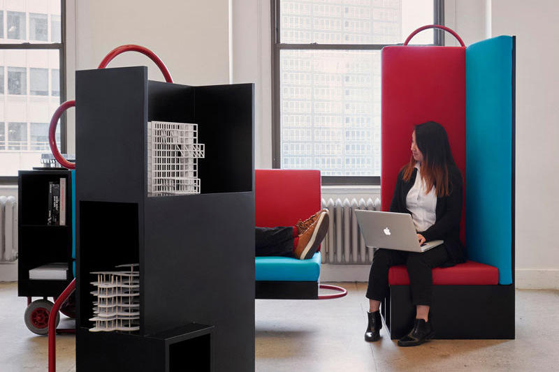 Cornell University 'Flexible Furniture' Line CL3 Vincent Lim Elaine Lu William Lim