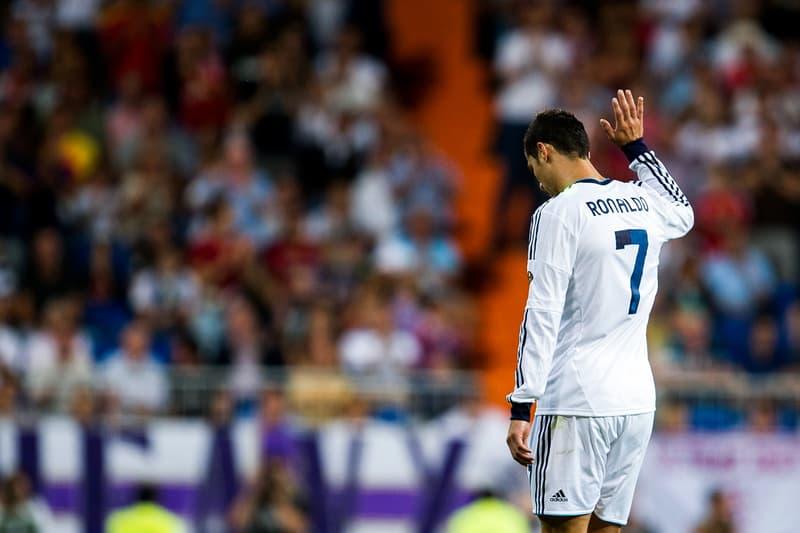 cristiano ronaldo 7 cr7 real madrid football soccer wave goodbye sad upset bye hand exit leave transfer tax fraud evasion adidas