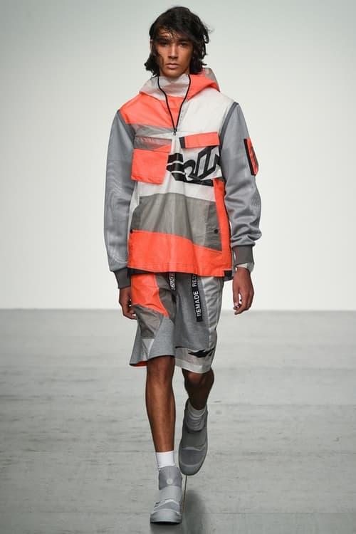 Christopher Raeburn London Fashion Week Men's 2018 Spring/Summer fashion style interview runway show showing presentation Palladium