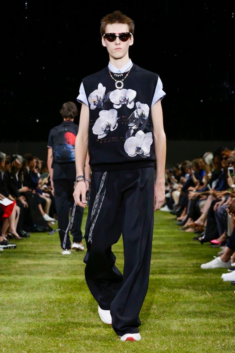 Dior Homme 2018 Spring/Summer Collection Paris Fashion Week Men's ss18 pfw men france late night Kris Van Assche President Emmanuel Macron