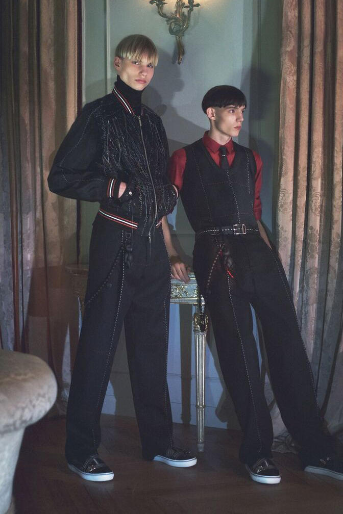 Dior Homme winter 2017-2018 Campaign Showcases Classy Rave Gear Dave Gahan Depeche mode Kris Van Assche