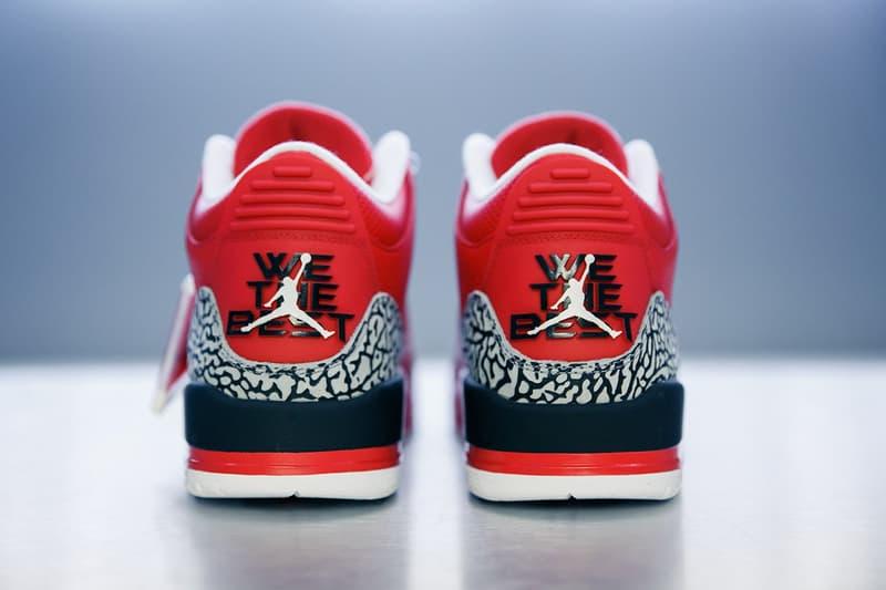 DJ Khaled Air Jordan 3 Collab Stadium Goods Red We The Best