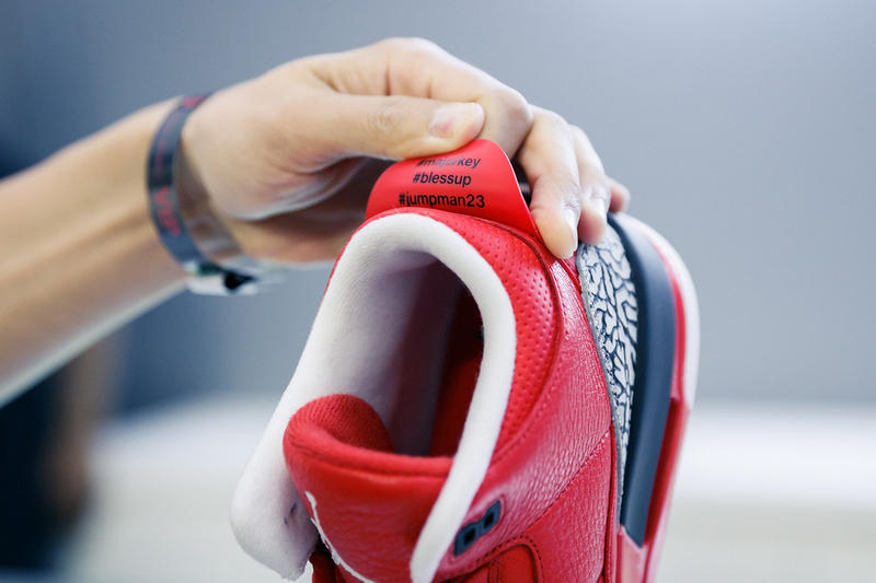 quality design 3d9b5 84375 DJ Khaled Shows Off His Air Jordan 3 Collab | HYPEBEAST