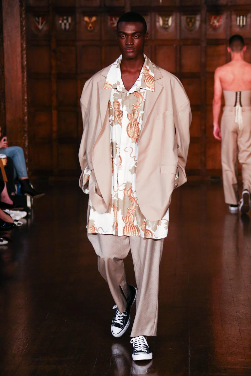 d2e78ab2f16 Edward Crutchley 2018 Spring Summer Collection Runway Show London Fashion  Week Men s