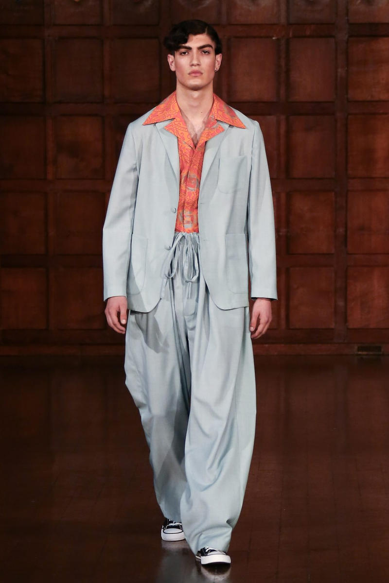 Edward Crutchley 2018 Spring/Summer Collection Runway Show London Fashion Week Men's