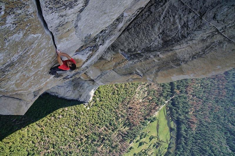 El Captain Solo Climb Yosemite National Park Alex Honnold