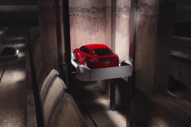Elon Musk Boring Company Godot Start Tunnel Los Angeles