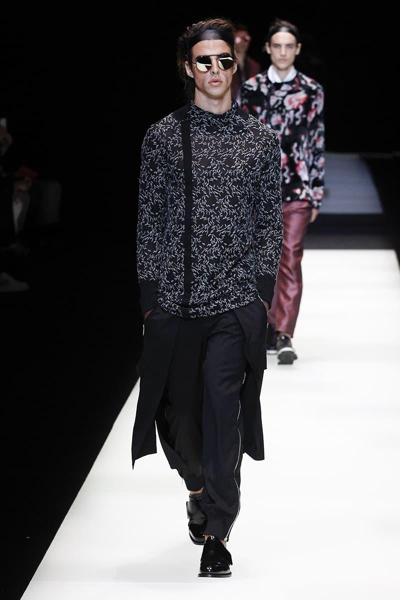 Emporio Armani 2018 Spring Summer Collection Milan Fashion Week Men's 2018