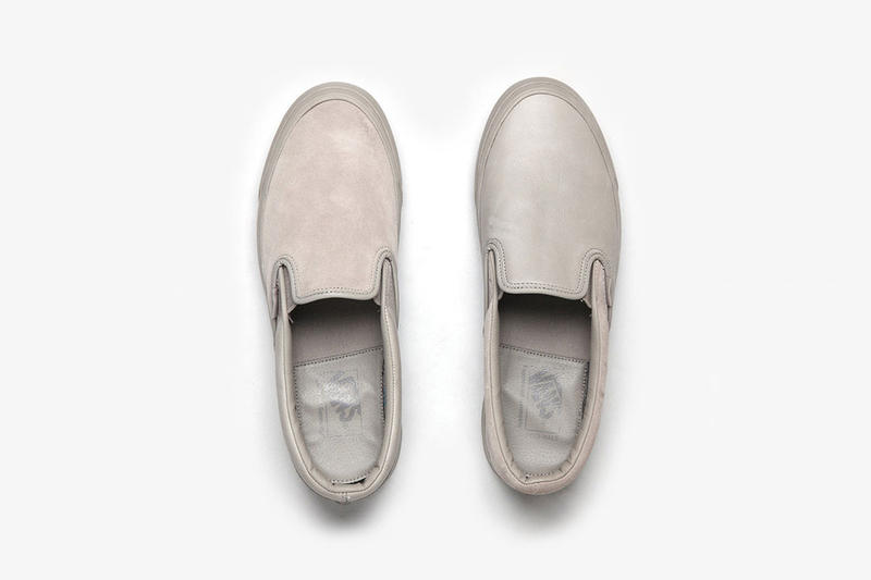 0fe8bbe28cd59a Engineered Garments x Vans 2017 Summer Slip-On