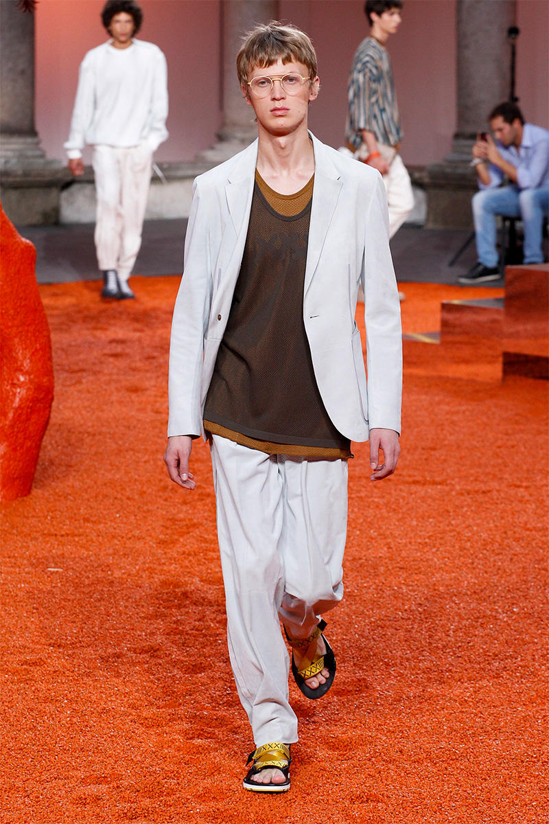 Ermenegildo Zegna 2018 Spring/Summer Collection Milan Fashion Week