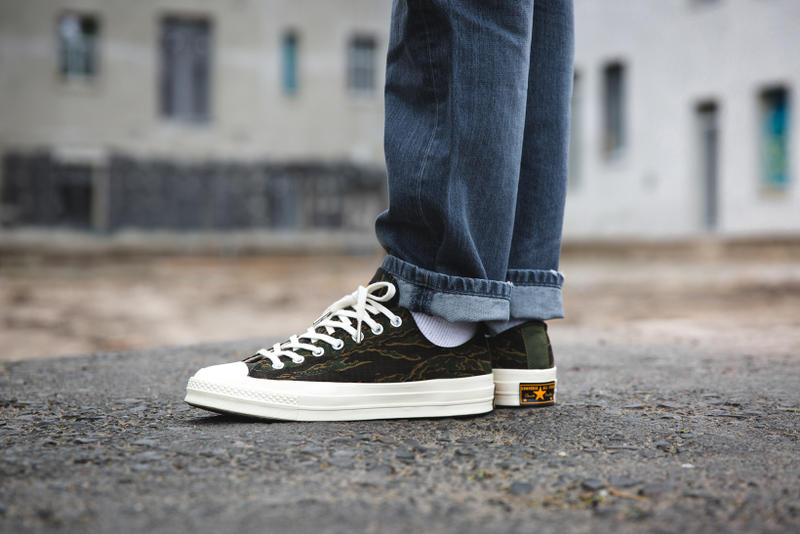 Carhartt WIP x Converse Chuck Taylor All Star 70s Camo Colorway