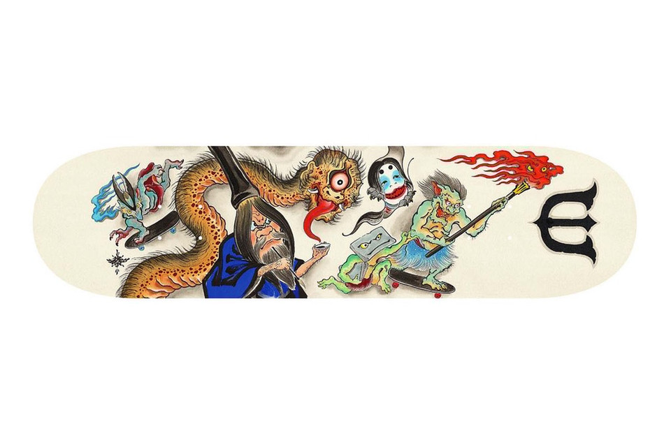 Evisen Skateboards' New Summer Decks are a Collision of Worlds