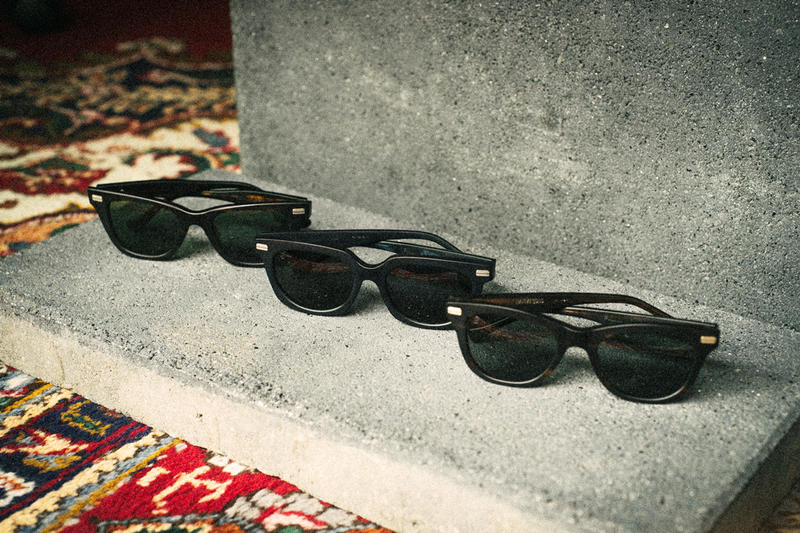 Firmament Native Sons The Blasted Frame Collection Berlin retailer Japanese eyewear Thomas Ogara sunglasses shades