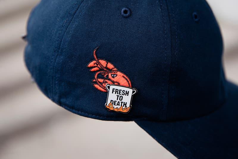 PINTRILL x '47 3 navy cap lobster pin