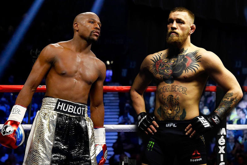Floyd Mayweather Conor McGregor Rumored Date Boxing MMA