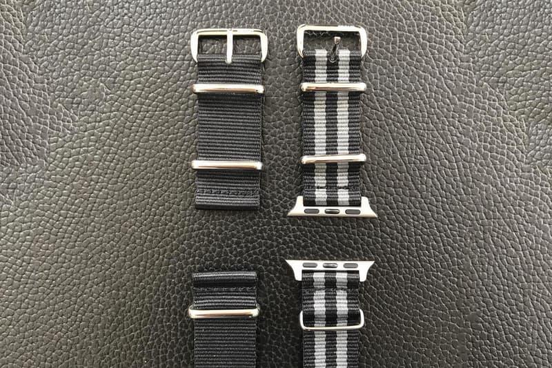 Hiroshi Fujiwara fragment design Nato Style Apple Watch Straps