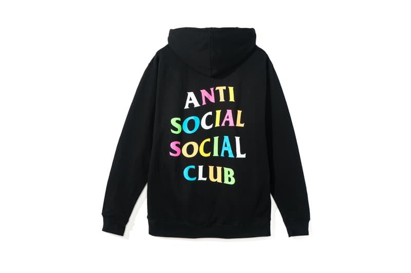 Frenzy Anti Social Social Club Neek Lurk ASSC Los Angeles Dropzone LA Pride Multicolor Hoodie