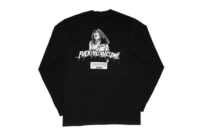 Fucking Awesome Thrasher Collaboration Collection Dover Street Market New York