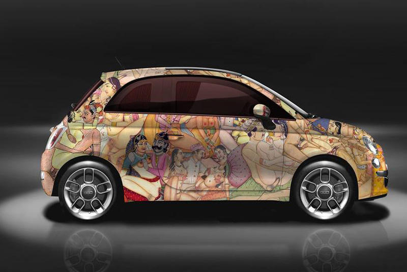 Garage Italia Customs Kar-masutra Fiat 500 NSFW Kama Sutra