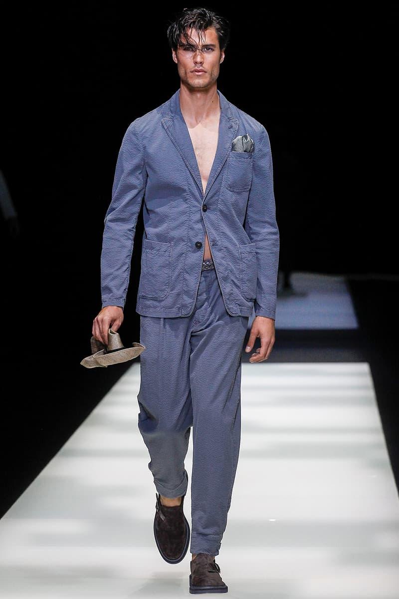 Giorgio Armani Spring Summer 2018 Collection Milan Fashion Week Men's