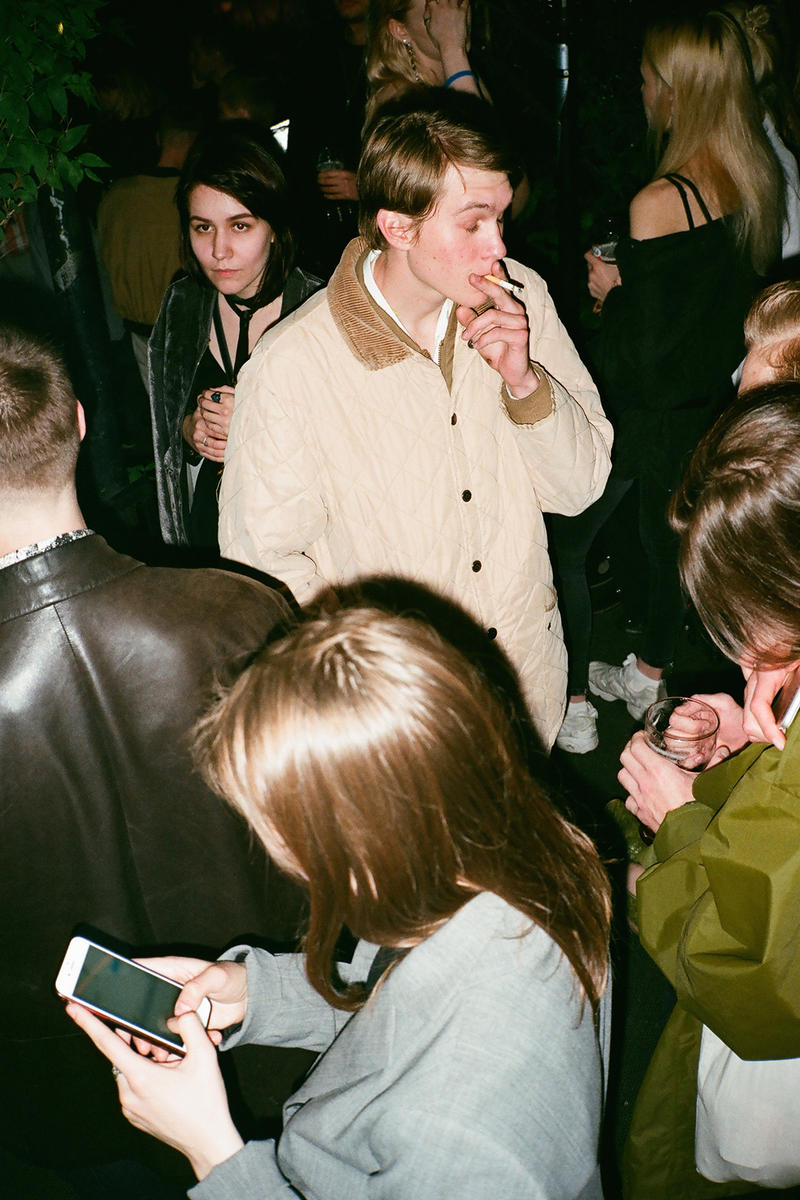 Gosha Rubchinskiy Spring Summer 2018 Collection After Party Russia Rave Techno Underground Outfit