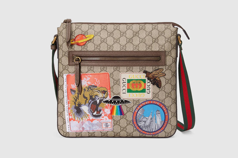 08154dd4bfef Gucci Purse Bag Draw Strong Wallet 2018 Cruise Collection Patches