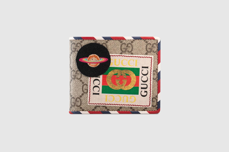 Gucci Purse Bag Draw Strong Wallet 2018 Cruise Collection Patches
