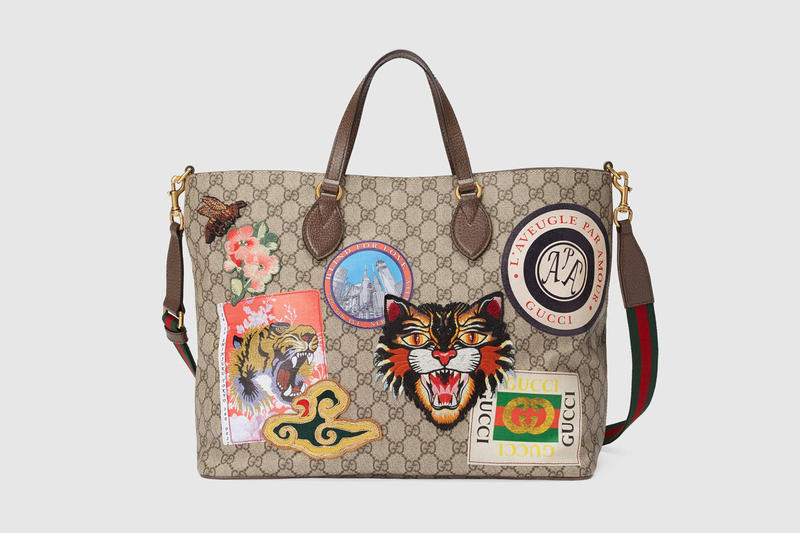 2018 Gucci Luggage Collection Features Patches Hypebeast