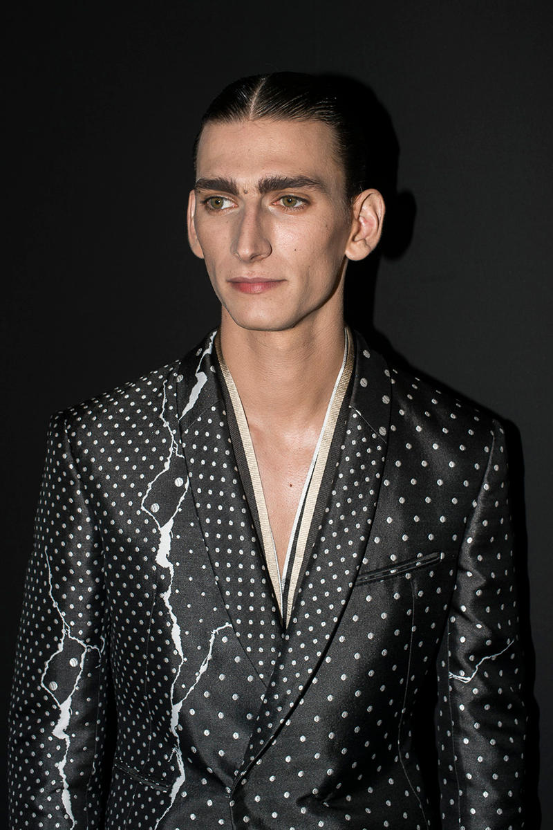 Haider Ackermann 2018 Spring/Summer Paris Fashion Week Men's Show Backstage