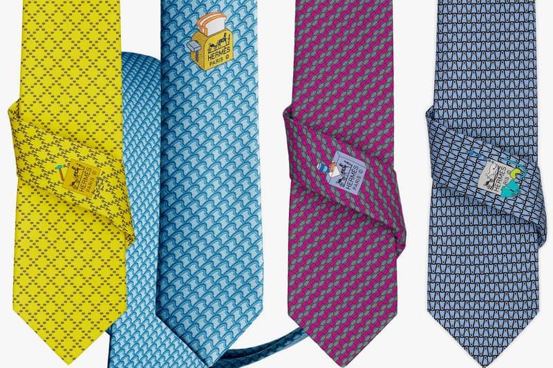 Hermès Tie Society Subscription Service